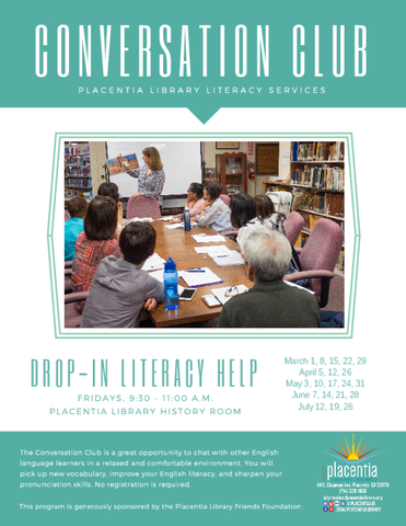 Conversation Club | Placentia Library